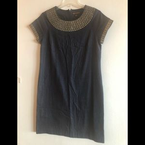 Dana Buchman Denim Dress Like NEW